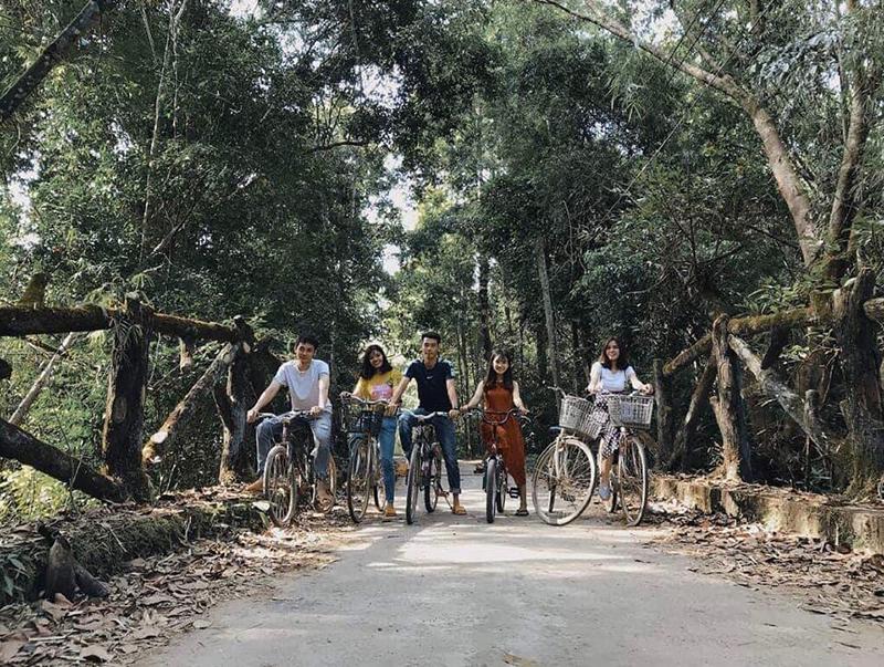 Tham quan rừng Nam Cát Tiên