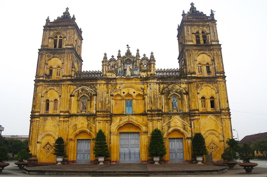 Nhà thời Chánh tòa giáo phận Bùi Chu