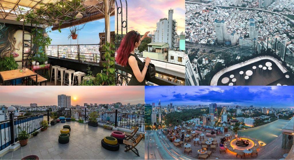 """Check -in ngay """"CÀ PHÊ TRÊN NÓC NHÀ"""" ngắm trọn view Sài Gòn đẹp không tưởng! post image"""