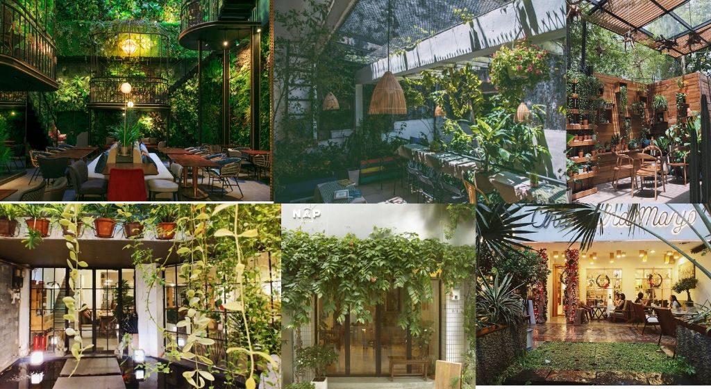 """Tận hưởng """"không gian xanh"""" tại những quán cafe view đẹp ở Sài Gòn! post image"""