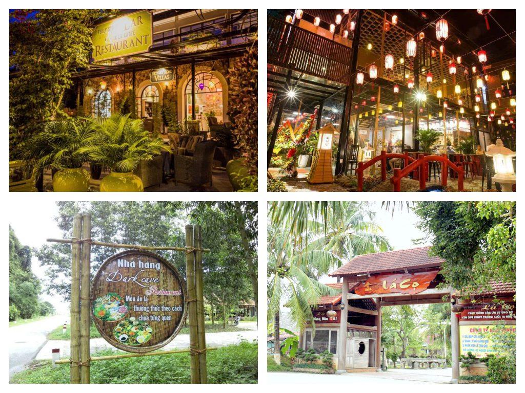 Nhà hàng gần Động Phong Nha