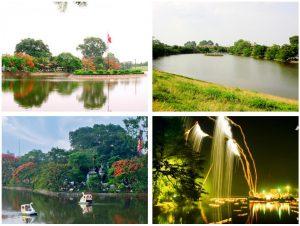 Hồ Bán Nguyệt Hưng Yên – vầng trăng khuyết tuyệt đẹp giữa lòng Phố Hiến thumbnail
