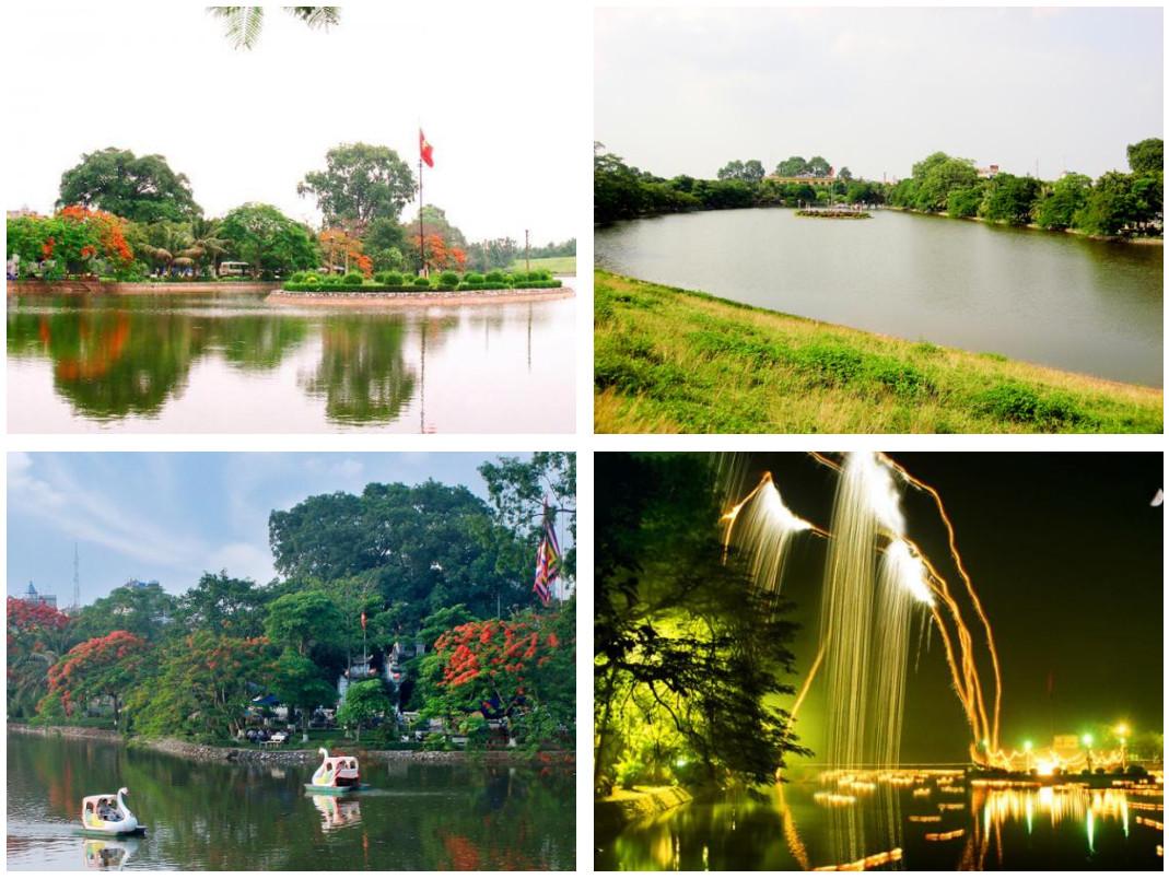 Hồ Bán Nguyệt Hưng Yên – vầng trăng khuyết tuyệt đẹp giữa lòng Phố Hiến post image
