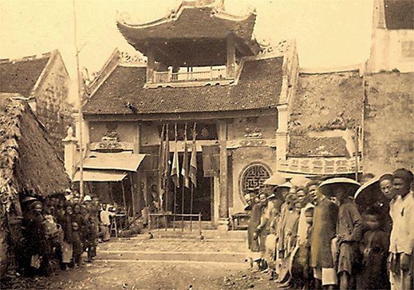 Một ngôi đền của Hoa kiều trong khu phố cổ