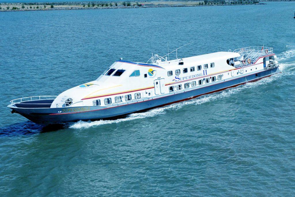 Tàu cao tốc Superdong ra đảo Phú Quý