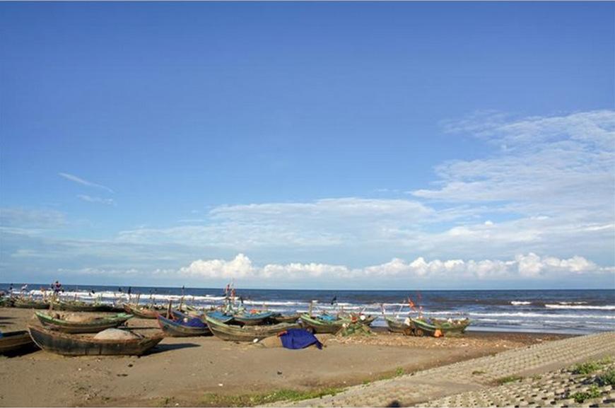Bãi 1 biển Hải Thịnh - Đây được xem là một nơi không thể bỏ qua cho của những nhiếp ảnh gia.