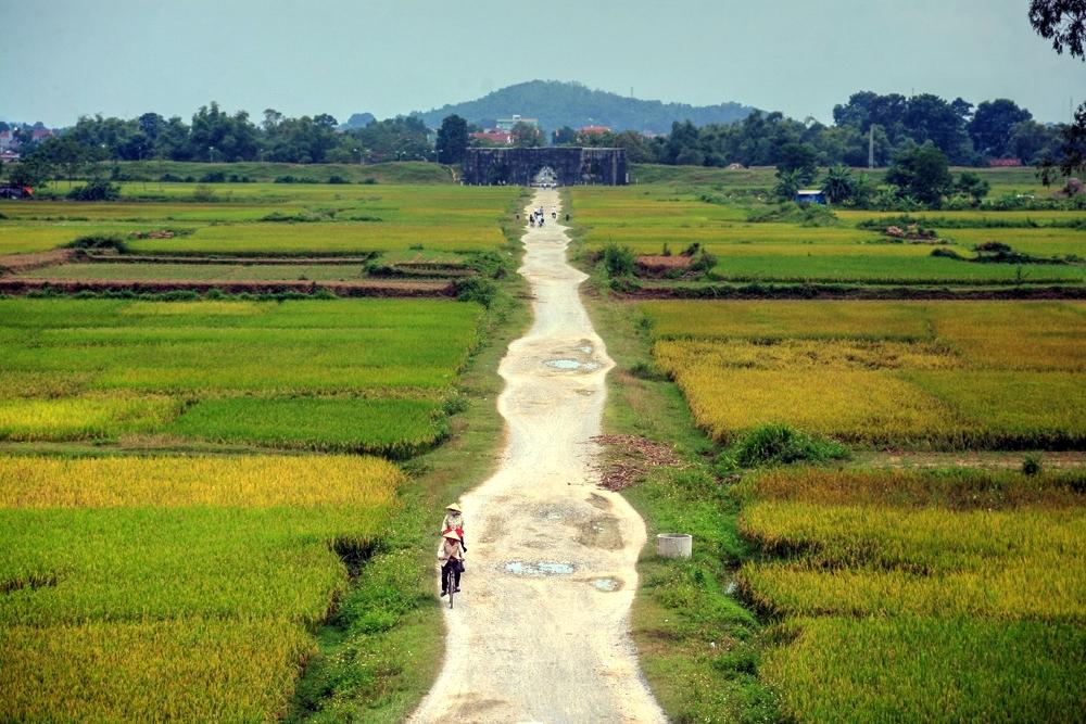 Con đường dài trong thành nhà Hồ