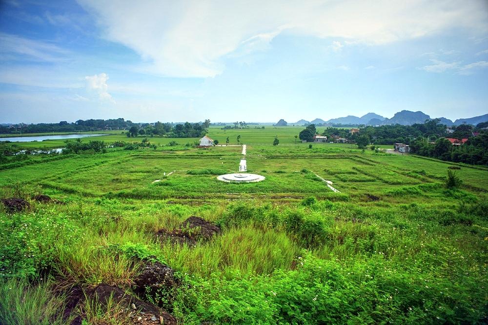 Đàn tế Nam Giao của thành nhà Hồ, nơi diễn ra lễ tế cầu chúc may mắn, bình an.