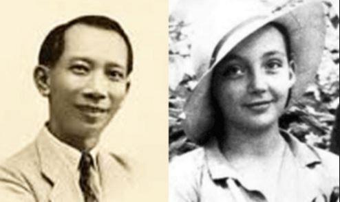 Hình ảnh ngoài đời thực của Huỳnh Thủy Lê và bà Manguerite