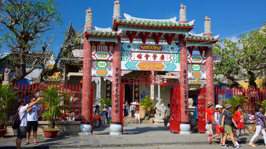 Hội quán Quảng Đông ở Hội An.