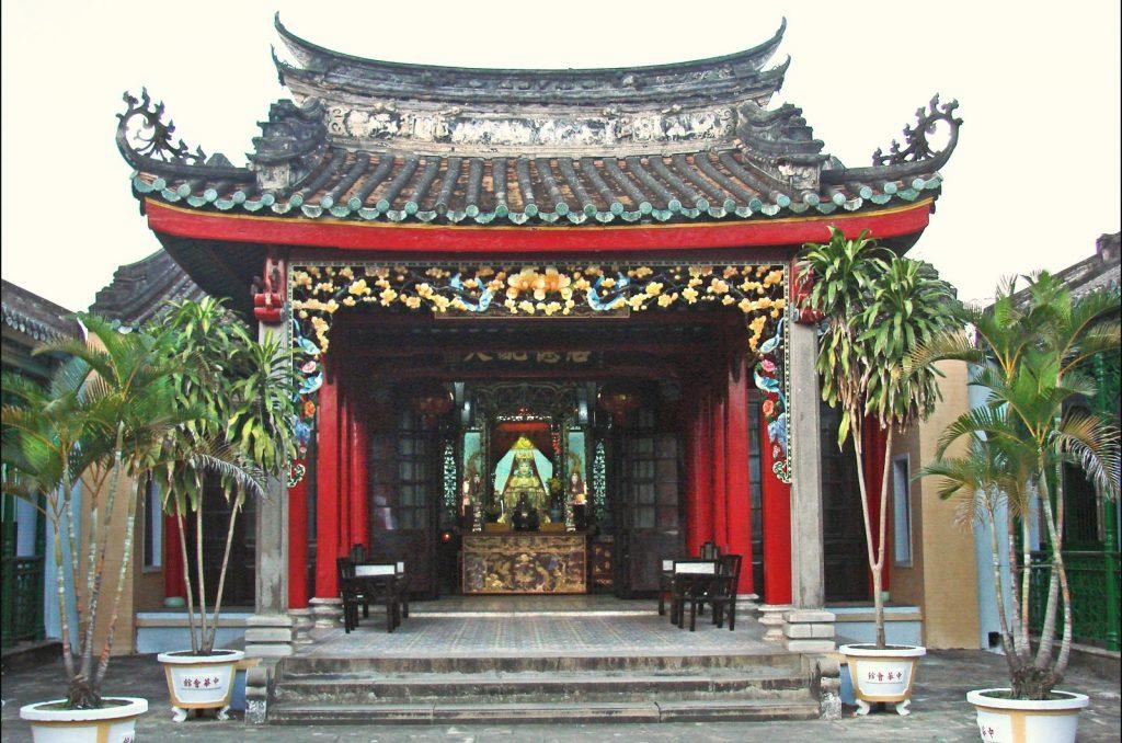 Hội quán Trung Hoa ở Hội An.