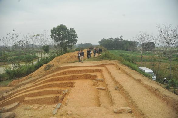 Công cuộc khai quật thành nhà Hồ