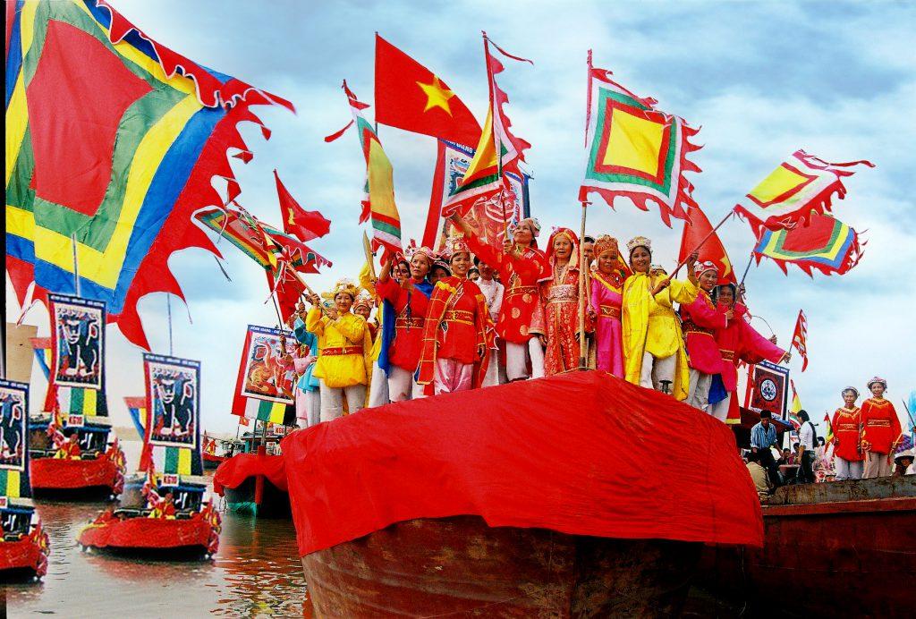 Lễ hội Cầu Ngư ở Thanh Hóa