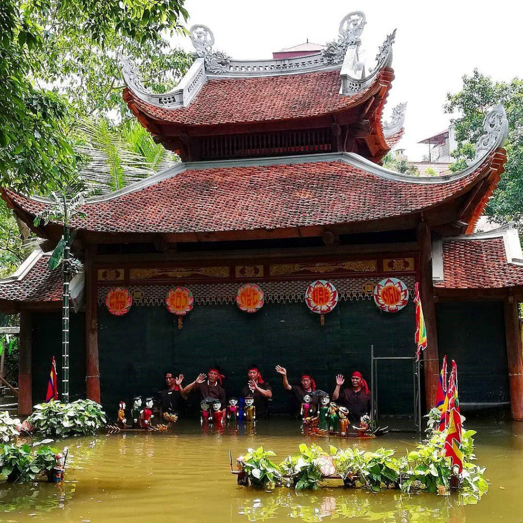 Múa rối nước tại Bảo tàng dân tộc học Việt Nam
