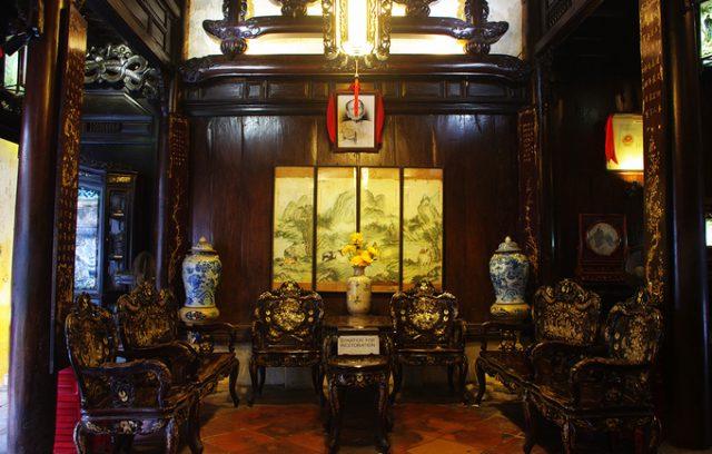 Nhà cổ Tấn Ký ở phố cổ Hội An.