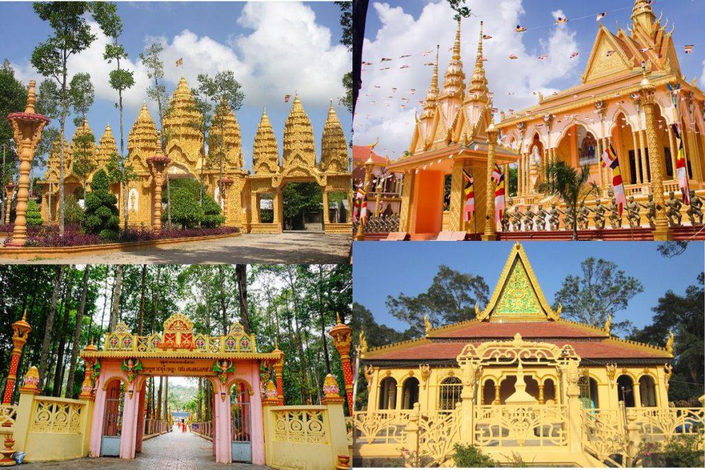 Những ngôi chùa Khmer nổi tiếng ở Trà Vinh