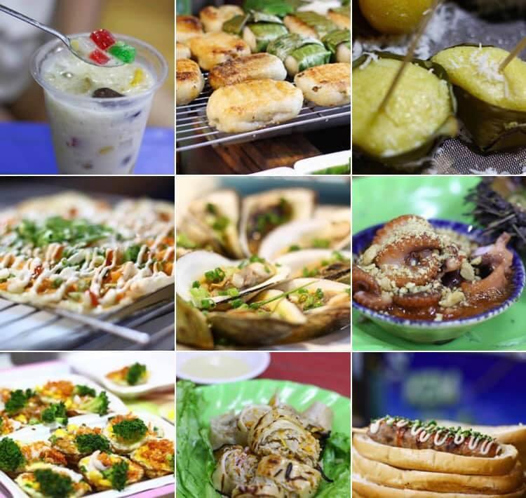 Tráng miệng cuối ngày với những món ăn vặt tại các hàng quán ở Phú Quốc.