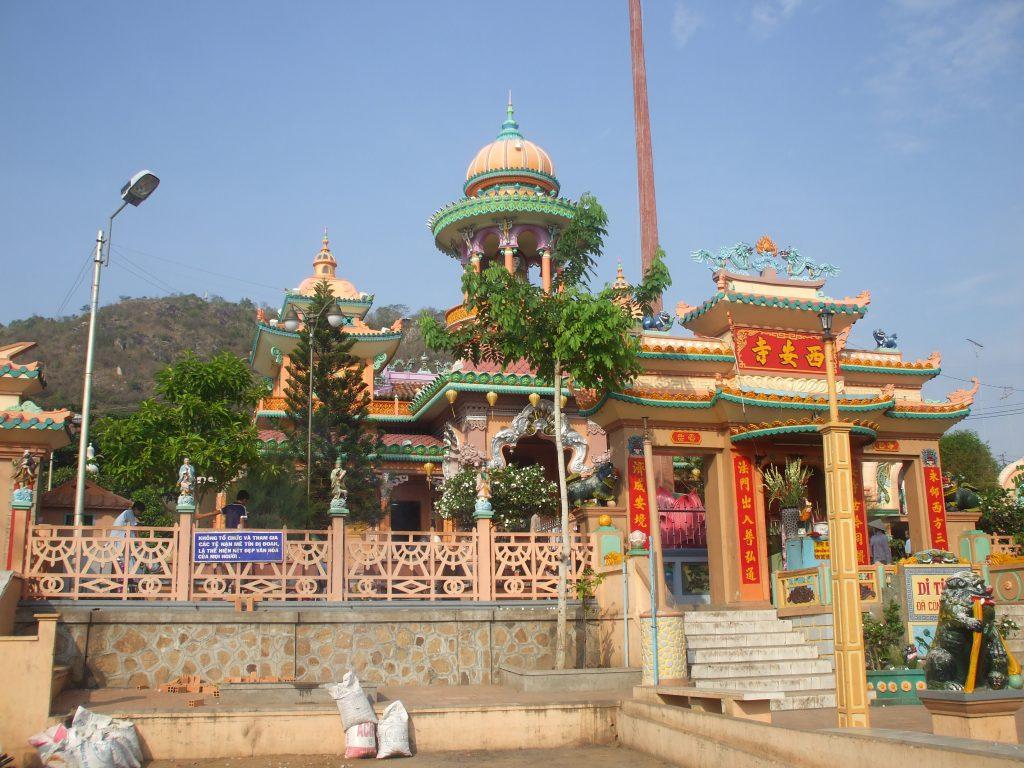 Chiêm ngưỡng kiến trúc chùa Tây An Cổ Tự.