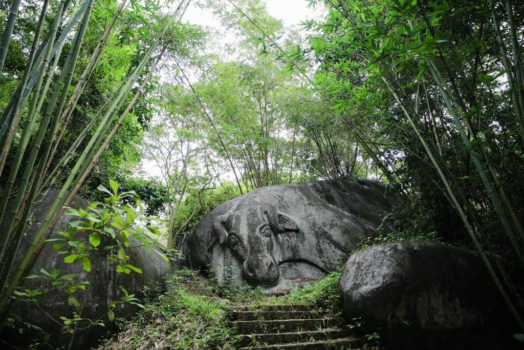 Hang Thiên Phúc Sơn Đồng ở Madagui.