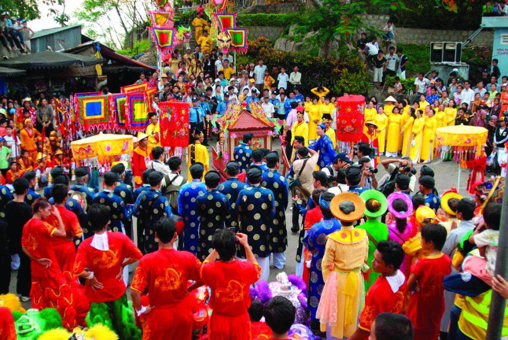 Lễ hội bà Chúa Xứ ở An Giang.
