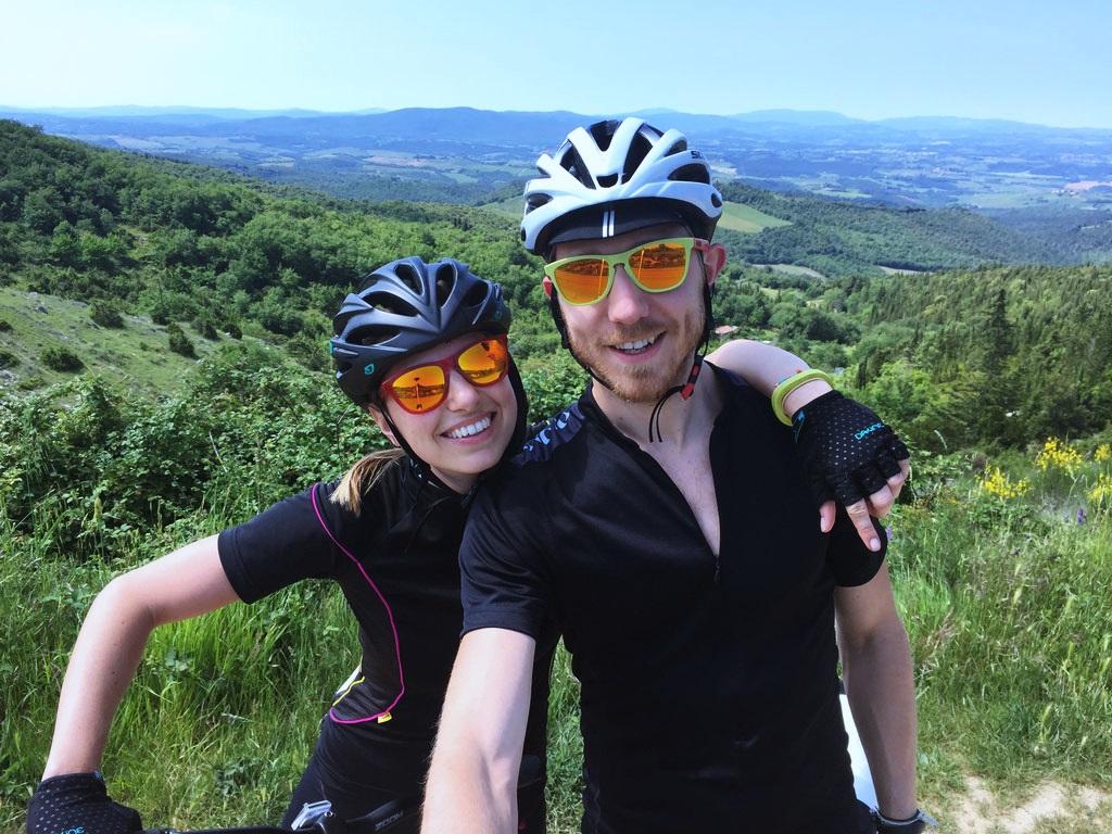 Tham quan rừng xanh Madagui bằng xe đạp địa hình.