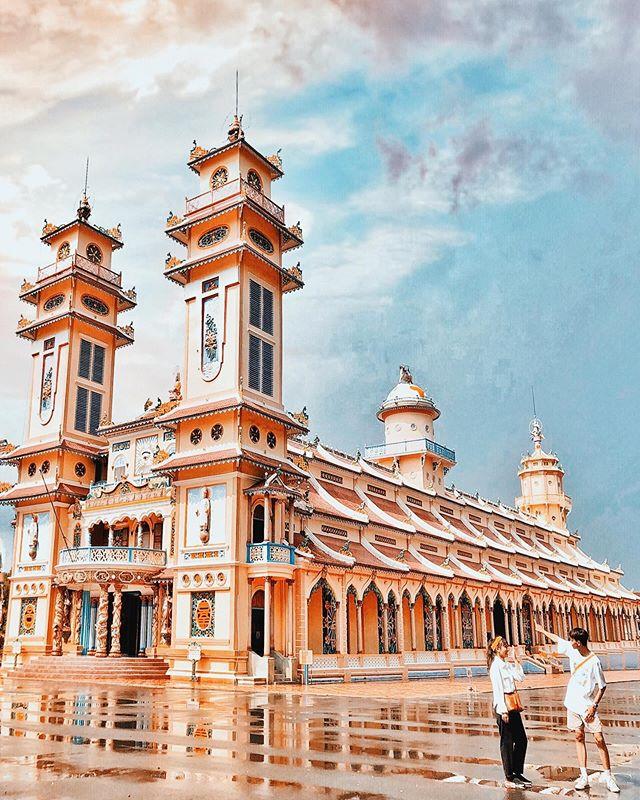 Tòa Thánh Tây Ninh - Địa điểm chụp ảnh đẹp ở Tây Ninh