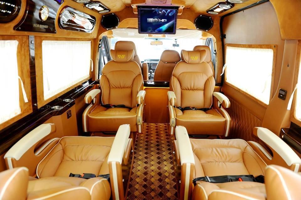 Dòng xe ghế ngồi có hệ thống massage.