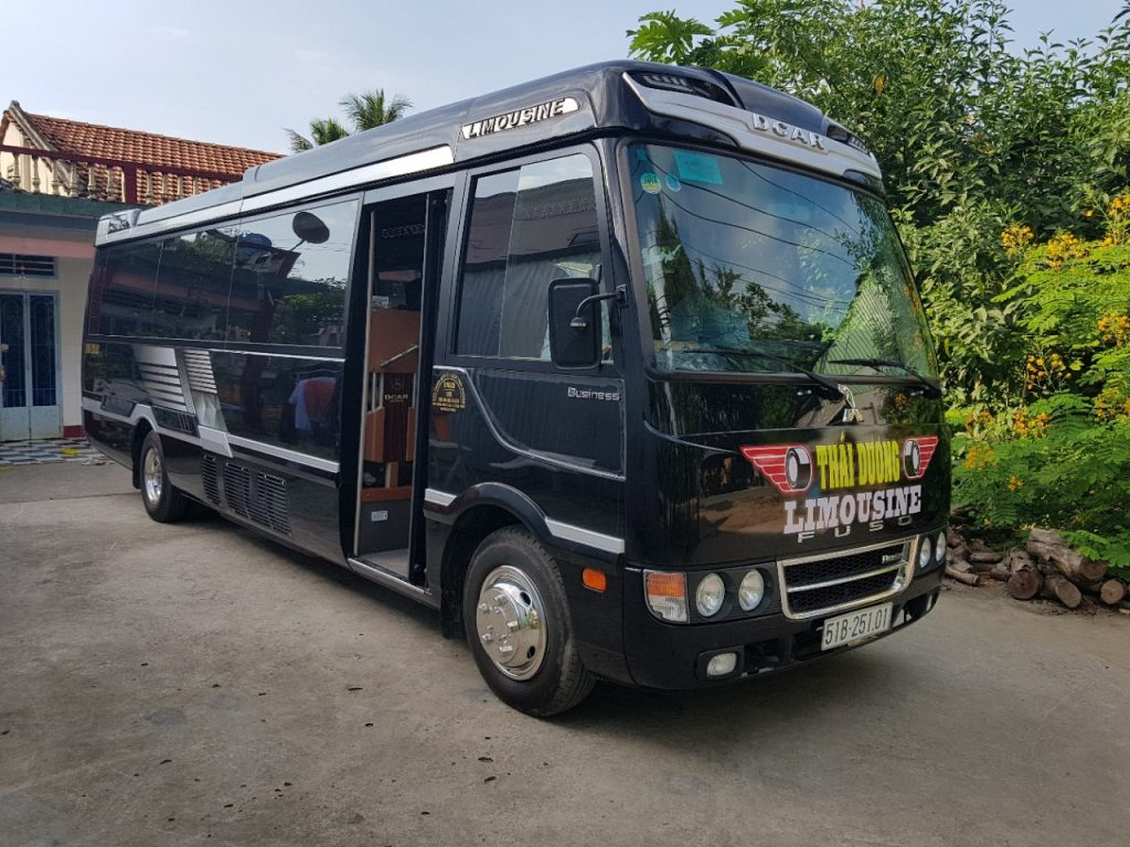 Xe Thái Dương Limousine đi Đà Lạt.