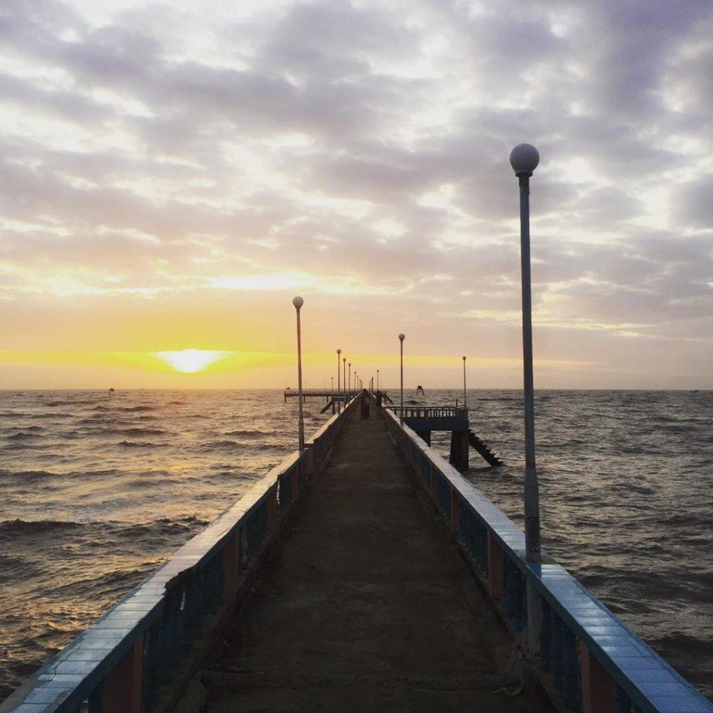 Biển Tân Thành Gò Công là địa điểm không thể bỏ sót.