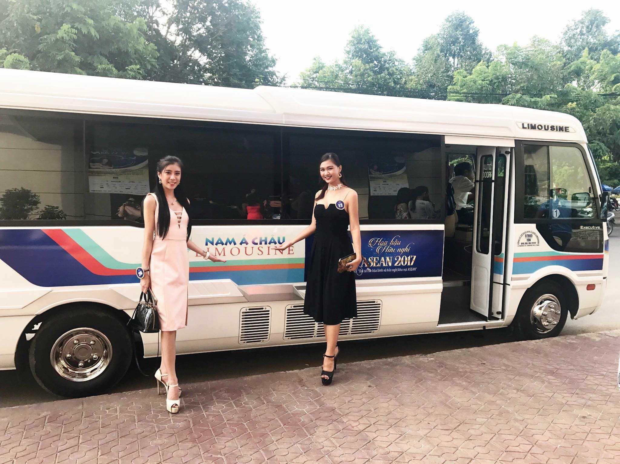 Nhà xe Nam Á Châu Limousine Sài Gòn đi Cần Thơ.