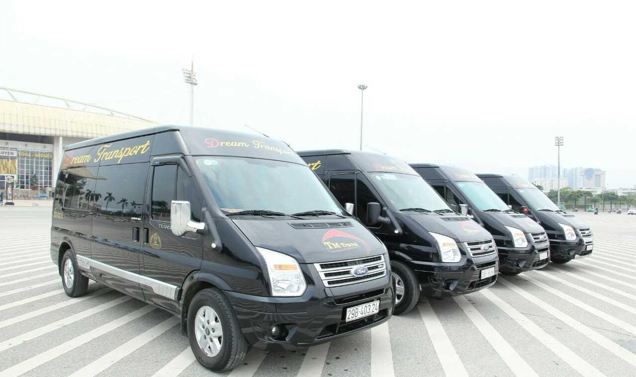 Xe Dream Transport đi Lào Cai.