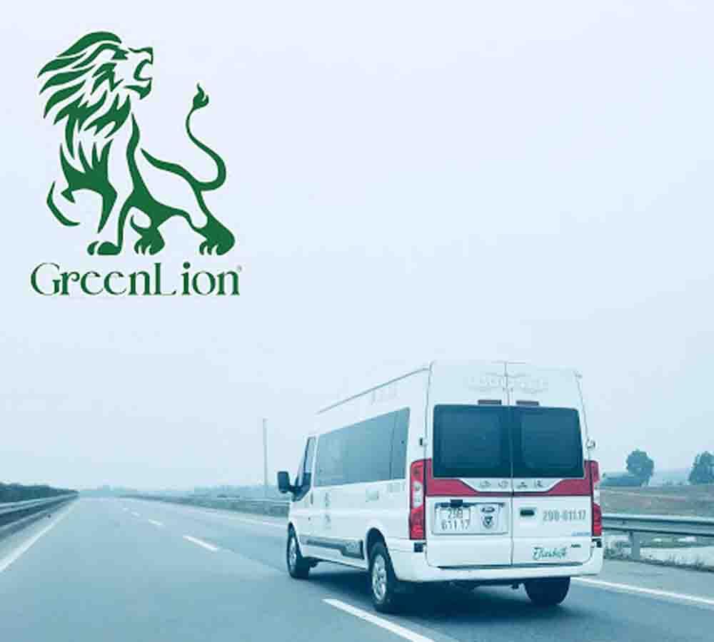Xe Green Lion Limousine đi Sapa.