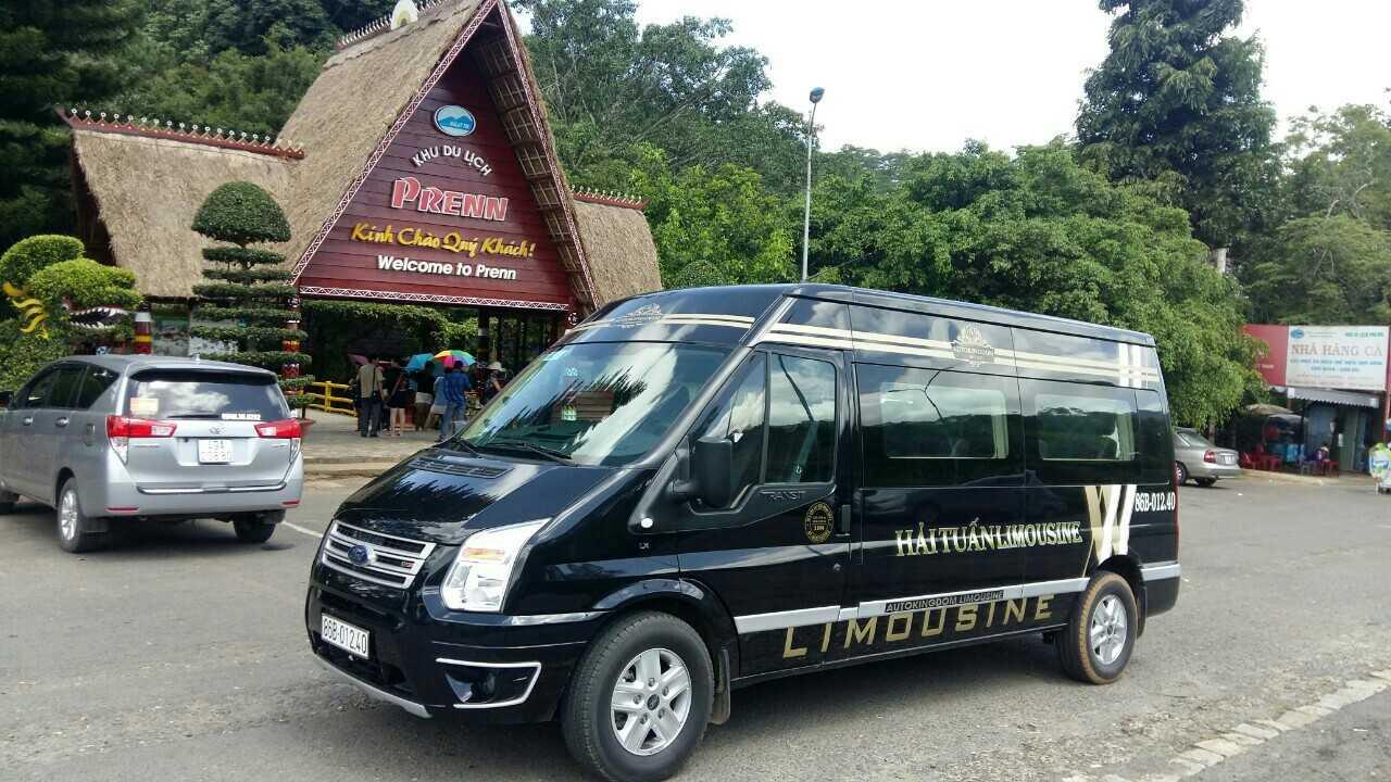 Xe Hải Tuấn Limousine Sài Gòn đi Nha Trang.