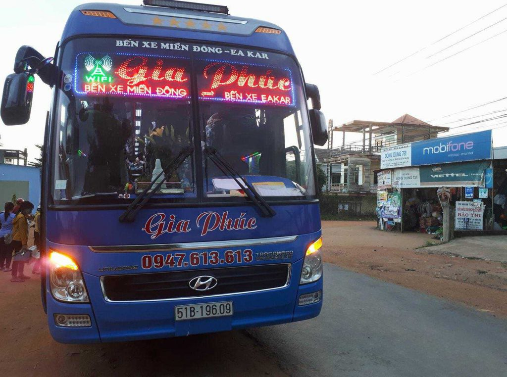 Xe Limousine Sài Gòn Nha Trang Gia Phúc.