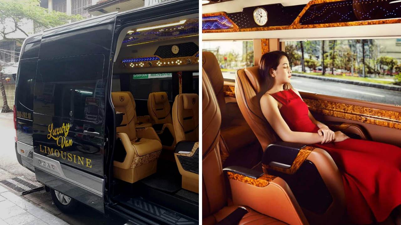 Xe Luxury Van Limousine đi Sapa.