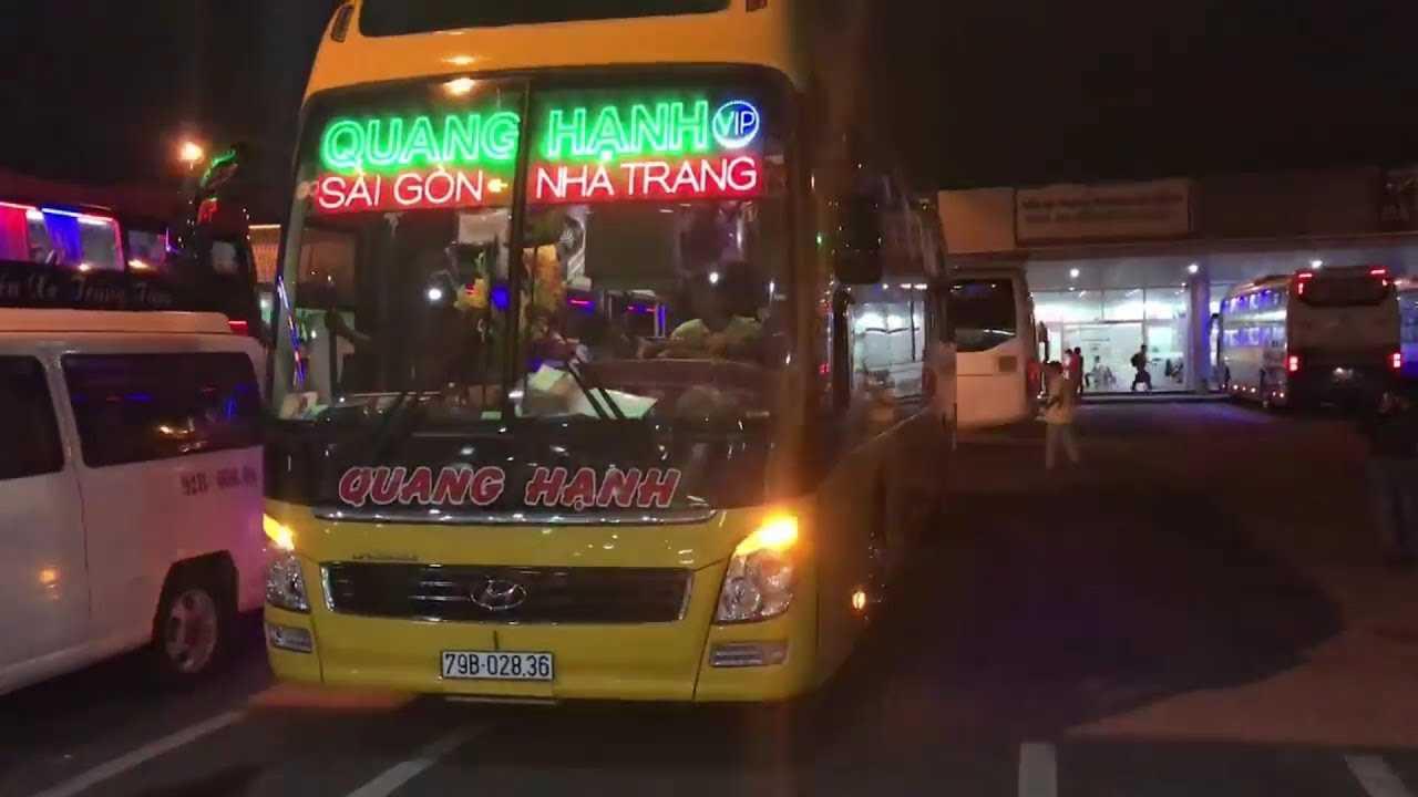 Xe Quang Hạnh đi Nha Trang từ Sài Gòn.