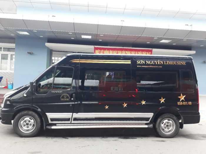 Nhà xe Sơn Nguyên Limousine Sài Gòn đi Cần Thơ.