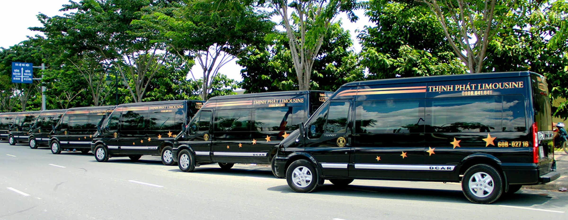 Xe Thịnh Phát Limousine đi Nha Trang.