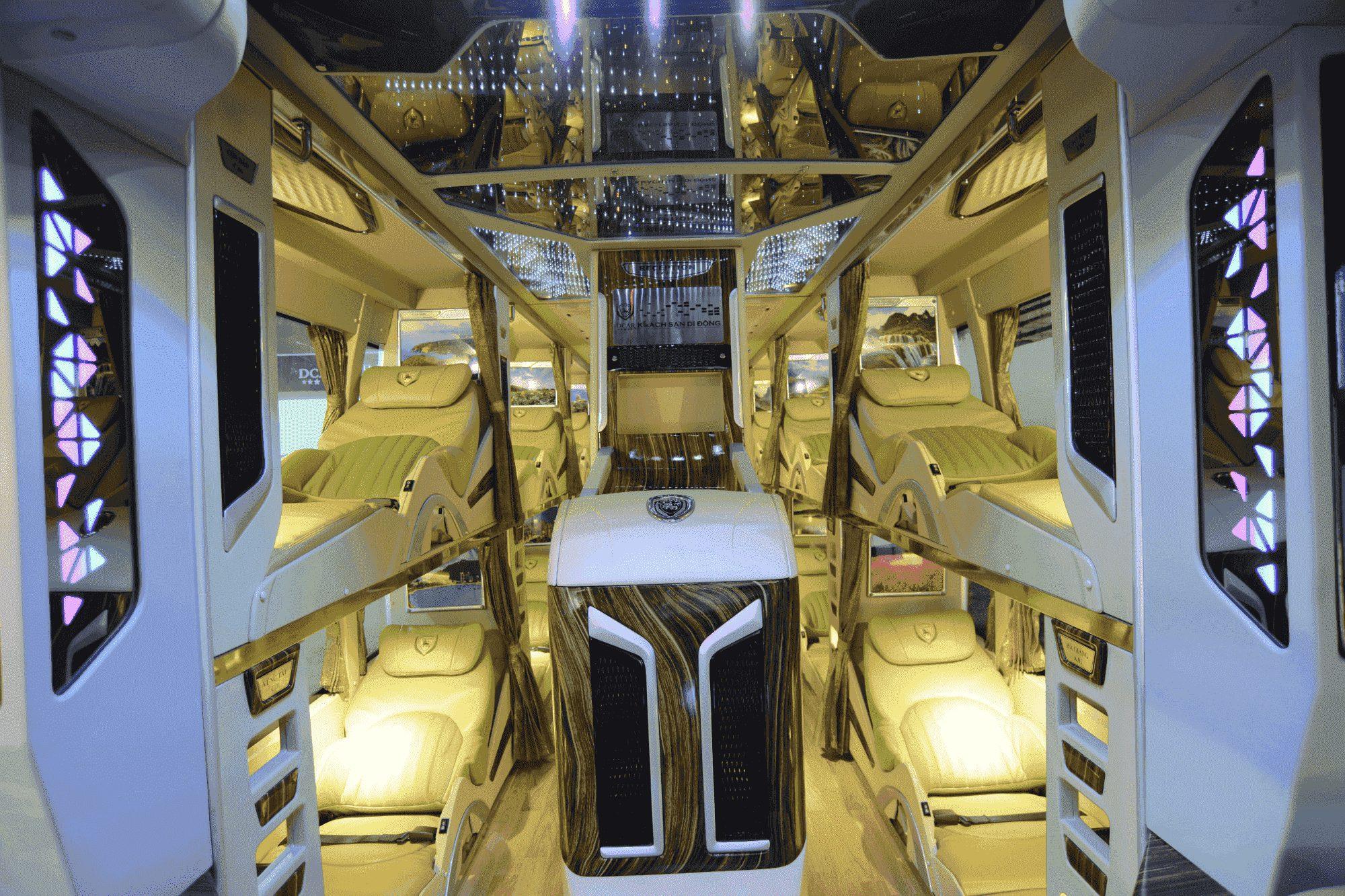 Xe Trà Lan Viên Limousine đi Nha Trang.