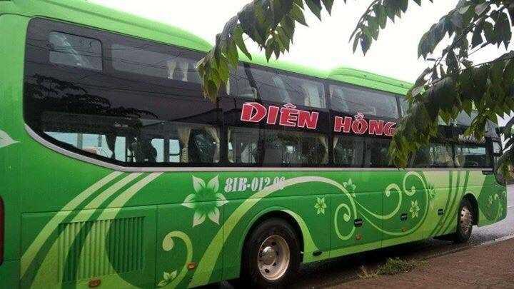 Xe Diên Hồng Gia Lai đi Đà Nẵng.