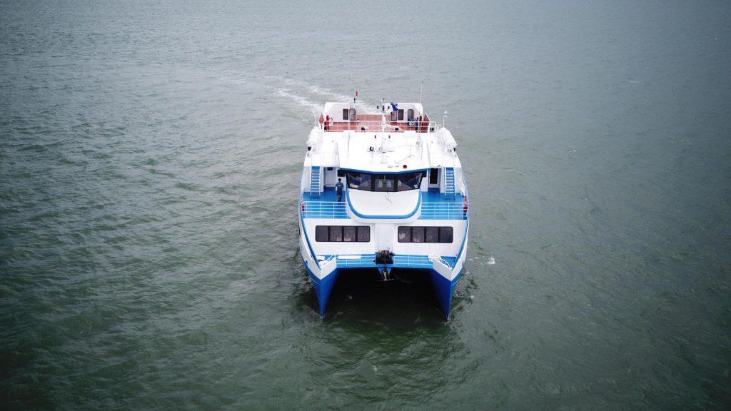 Phà biển đầu tiên ở Sài Gòn sắp đi vào hoạt động