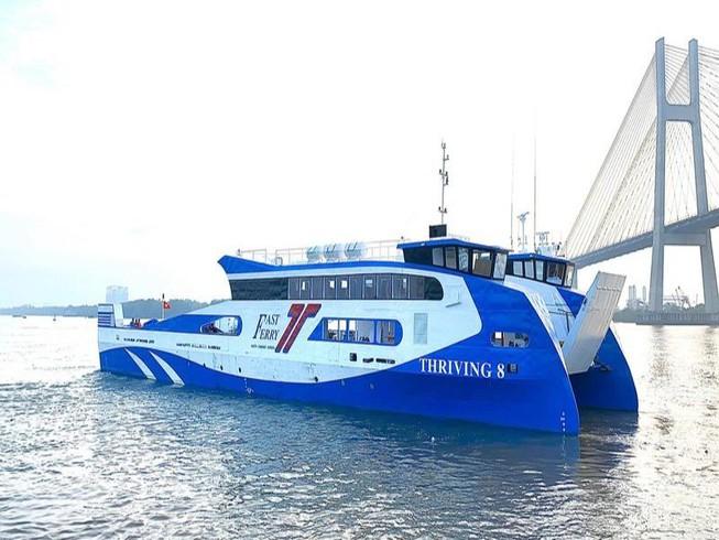 Phà biển đi từ TP. Hồ Chí Minh đến Vũng Tàu dự kiến sẽ khởi động vào đầu tháng 9