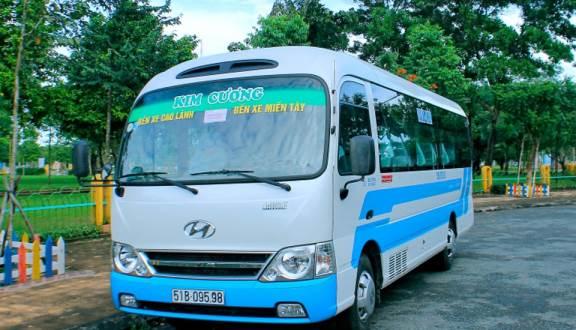 Xe khách Kim Cương đi Đồng Tháp