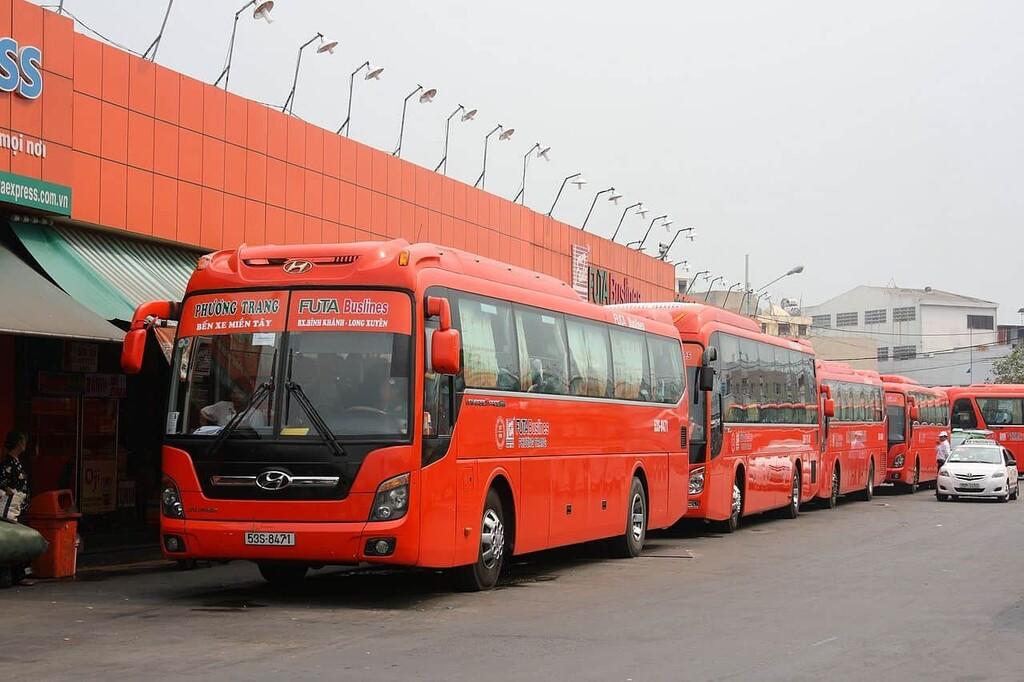 Xe khách Phương Trang đi Đồng Tháp
