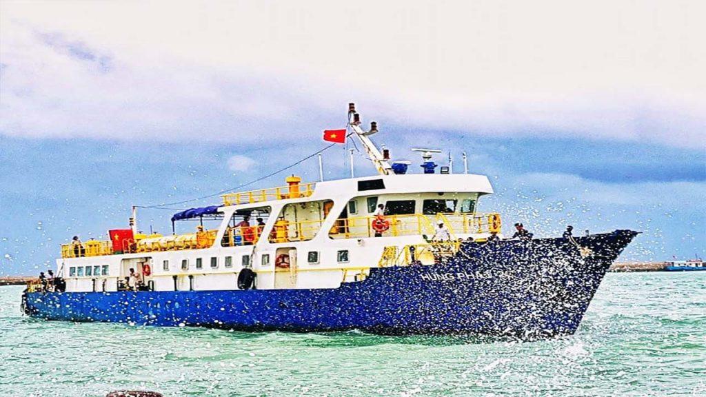 Giá vé tàu cao tốc đi Phú Quốc