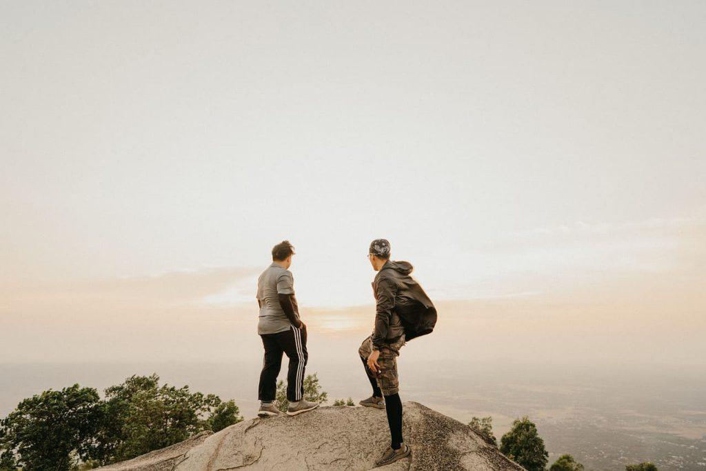 Con đường đi đến núi Chứa Chan Gia Lào (Nguồn:  Hội Leo Núi)