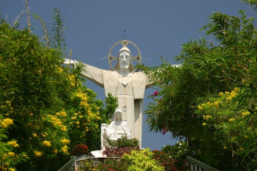 Tượng Chúa Kito Vũng Tàu (Ảnh: st)